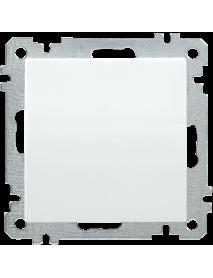 ВС10-1-0-Б Выключатель 1 клав. 10А BOLERO белый IEK