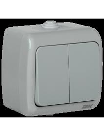 ВС-20-2-0-А Выкл. 2 кл. откр. уст. 10А IP54 AQUATIC IEK