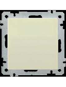 ВС10-1-0-Б Выключатель 1 клав. 10А BOLERO кремовый IEK