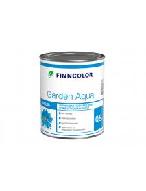 Акриловая эмаль Garden Aqua A п/мат 0,9л