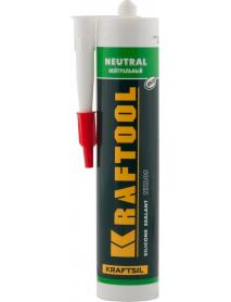 """Герметик силиконовый нейтральный NX109 KRAFTOOL KRAFTSIL """"NEUTRAL"""" 41257-0"""