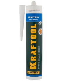 """Герметик силиконовый санитарный SX105 KRAFTOOL KRAFTSIL """"SANITARY"""" 41255-0"""