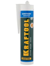 """Герметик силиконовый санитарный SX105 KRAFTOOL KRAFTSIL """"SANITARY"""" 41255-2"""