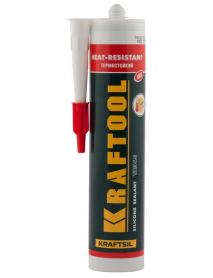 """Герметик силиконовый термостойкий TX315 KRAFTOOL KRAFTSIL """"HEAT-RESISTANT"""" 41259"""