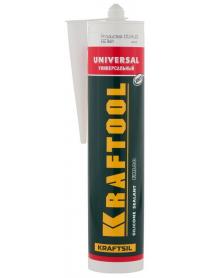 """Герметик силиконовый универсальный FX100 KRAFTOOL KRAFTSIL """"UNIVERSAL"""" 41253-0"""