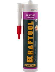 "Герметик акрилово-латексный AX200 KRAFTOOL KRAFTSIL ""ACRYLIC"" 41251-0"