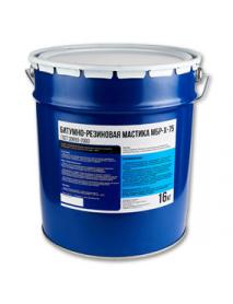 Битумно-резиновая холодная мастика МБР-Х-75 16 кг