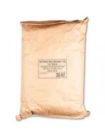 Битумная кровельная горячая мастика МБК-Г-65 (мешок, 30 кг)