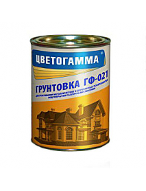 "Грунт ГФ-021 серый ""Цветогамма"" Белоруссия ГОСТ 6465-76 2,4 кг"