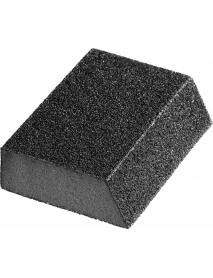 """Губка шлифовальная STAYER """"MASTER"""" угловая, зерно - оксид алюминия, Р120, 100 x 68 x 42 x 26 мм, средняя жесткость, 3561-120"""