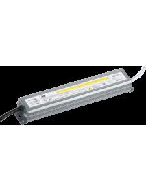 Драйвер LED ИПСН-PRO 30Вт 12 В блок- шнуры IP67 IEK