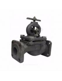 Клапан запорный чугун 15кч16нж Ду 50 Ру25 Тмакс=300 оС фл со штурвалом Луидор .