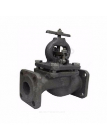 Клапан запорный чугун 15кч16нж фл сальниковое уплотнение Луидор