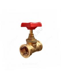 Клапан запорный латунь 15б1п Ду 20 Ру16 ВР прямой
