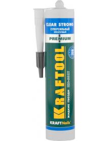 "Клей монтажный KN-601T KRAFTOOL KraftNails PREMIUM ""CLEAR STRONG"" 41342"