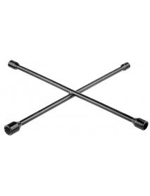 Ключ-крест автомобильный хромированный складной KRAFTOOL 27574