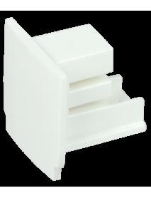 Заглушка для трехфазного шинопровода белая IEK