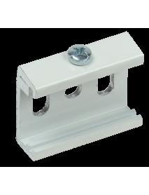Комплект для накладного монтажа шинопровода белый IEK