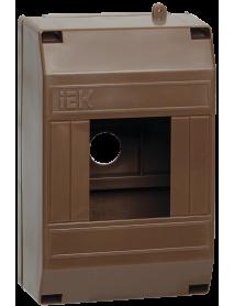 Бокс КМПн 1/4 для 4-х авт.выкл. наружн. уст. (Дуб) IEK