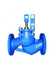 Клапан поплавковый прямой чугун RF3241 Ду 50 Ру16 фл поплавок сталь нерж в комплекте Тмакс=120 оС Tecofi RF3241-0050