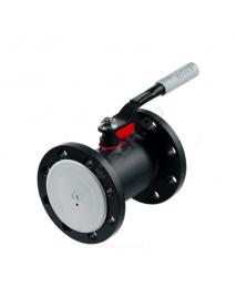 Кран шаровой сталь 11с67п Ду 150 Ру16 фл Titan 2ЦФ.00.1.016.150