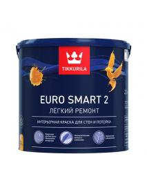 Tikkurila Краска интерьерная EURO SMART 2 VVA гл/мат 9л