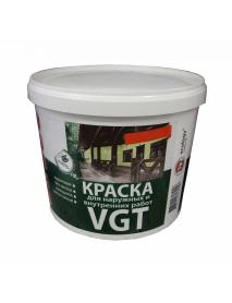ВГТ ВДАК 1180 БЕЛОСНЕЖНАЯ краска для наружных и внутренних работ, моющаяся (15кг)