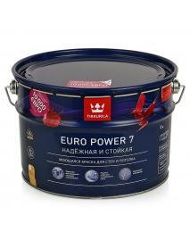 Tikkurila Краска интер. стойкая к мытью EURO POWER 7 A мат 9л (11,06кг)