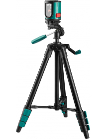 Лазерный уровень построитель плоскостей со штативом KRAFTOOL 34700-3