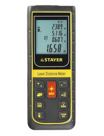 """Дальномер STAYER """"PROFI"""" лазерный, """"SDL-100"""", точность 2мм, дальность 100м 34959"""