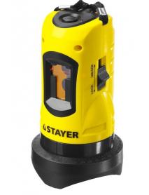 """Лазерный построитель плоскостей STAYER """"MASTER"""" LASERMAX 34960"""