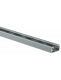 STRUT-профиль перфорированный 41x21х1100-2,5 HDZ IEK