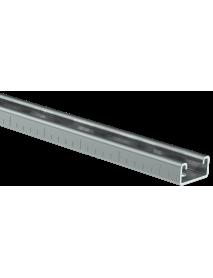 STRUT-профиль перфорированный 41x21х1200-2,0 HDZ IEK