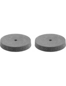 Круг STAYER шлифовально-полировальный, резина,карбон, d 22мм, 2шт, 29916-H2