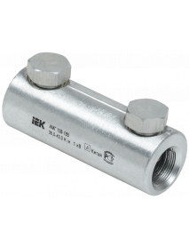 Алюминиевая механическая гильза со срывными болтами АМГ 120-185 до 1 кВ IEK