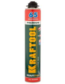 Пена монтажная пистолетная KRAFTOOL KraftFlex PREMIUM PRO 65 41184_z01