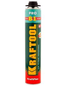 Пена монтажная пистолетная KRAFTOOL KraftFlex PREMIUM PRO B1 41186_z01