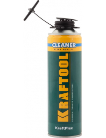 Очиститель монтажной пены KRAFTOOL KraftFlex PREMIUM CLEANER 41189_z01