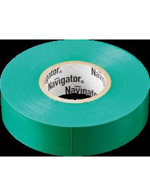 Изолента Navigator 71 113 NIT-A19-20/G зелёная
