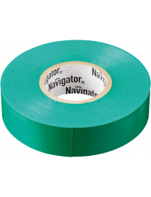 Изолента Navigator 71 106 NIT-B15-20/G зелёная