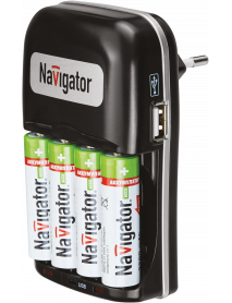 Зарядное устройство Navigator 94 473 NCH-404USB