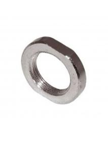 Контргайка стальная хромированная для полотенцесушителя Ду15 (2 шт.)
