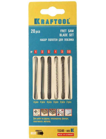 Набор полотен для лобзика KRAFTOOL 15348-H20