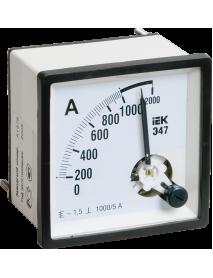 Амперметр Э47 100/5А кл. точн. 1,5 72х72мм