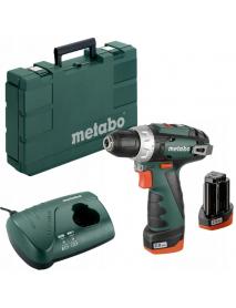 Дрель-шуруповерт аккумуляторный PowerMaxx BS 2014 Basic 2.0Ahx2 Case Metabo 600080500