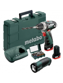 Дрель-шуруповерт аккумуляторный PowerMaxx BS 2014 Basic 2.0Ahx2 Case Set Metabo 600080930