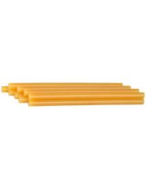 """Стержни STAYER """"MASTER"""" для клеевых (термоклеящих) пистолетов, цвет желтый по бумаге и дереву, 11х200мм, 40шт 2-06821-Y-S40"""