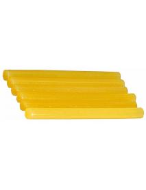 """Стержни STAYER """"MASTER"""" для клеевых (термоклеящих) пистолетов, цвет желтый по бумаге и дереву, 11х200мм, 6шт 2-06821-Y-S06"""