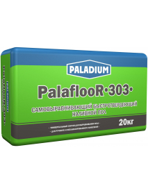 Наливной пол гипсовый самовыравнивающий PalaflooR-303 20 кг