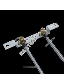 "Блок монтажный для скрытого монтажа Дн 16х1/2"" ВР с водорозетками Rehau 13661411001 (12414851406)"